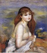 After the Bath(Little Bather) renoir