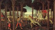 The Story of Nastagio degli Onesti Sandro Botticelli
