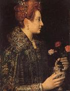 A Young Lady in Profile Sofonisba Anguissola