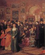 The Private View of the Royal Academy William Powell Frith