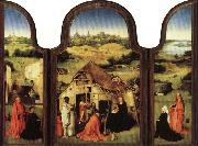 Triptych of the Epiphany BOSCH, Hieronymus