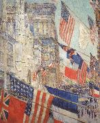 Allies Day,May 1917 Childe Hassam