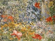 In the Garden Celia Thaxter in Her Garden Childe Hassam