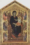 Madonna and Child with Angels Duccio