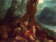 Jacob's Dream ELSHEIMER, Adam