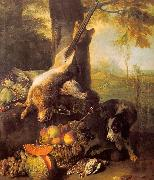Still Life with Dead Hare and Fruit Francois Desportes