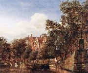View of the Herengracht, Amsterdam HEYDEN, Jan van der