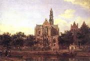 View of the Westerkerk, Amsterdam HEYDEN, Jan van der