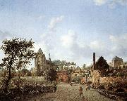 proach to the Town of Veere HEYDEN, Jan van der
