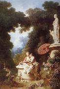 Love Letters Jean-Honore Fragonard