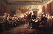 The Declaration of Independence 4 july 1776 John Trumbull