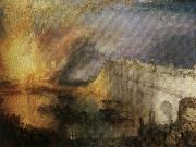 Burning of the Houses William Turner
