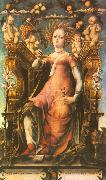 Ceres Enthroned MICHELE PANNONIO