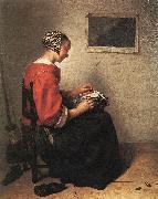 The Lace-Maker NETSCHER, Caspar