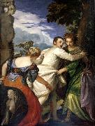 Allegory of virtue and vice Paolo Veronese