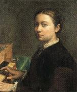Self-Portrait at the Spinet Sofonisba Anguissola