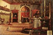 Saint Augustine in His Study Vittore Carpaccio