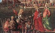 Meeting of the Betrothed Couple (detail) Vittore Carpaccio