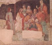 A Young Man Is Greeted by the Liberal Arts (mk05) Botticelli