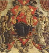 The Virgin and Child in Glory with (mk05) Francesco Botticini