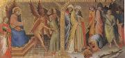 The Meeting between st James Major and Hermogenes (mk05) Lorenzo Monaco