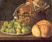 Still-Life with Figs MELeNDEZ, Luis