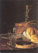 Still-Life with a Box of Sweets and Bread Twists MELeNDEZ, Luis