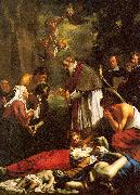 St. Macaire of Ghent Tending the Plague-Stricken Oost, Jacob van the Younger