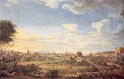 View of Rome from Mt. Mario, In the Southeast Panini, Giovanni Paolo