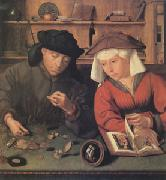 The Moneylender and His Wife (mk05) Quentin Massys