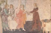 A Young Woman Receives Gifts from Venus and the Three Graces (mk05) Sandro Botticelli