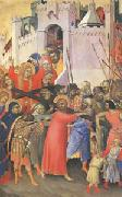 The Carrying of the Cross (mk05) Simone Martini