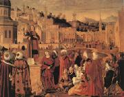 Stephen Preaching at Jerusalem (mk05) Vittore Carpaccio