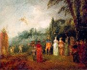 The Island of Cythera WATTEAU, Antoine