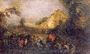 The Burdens of War WATTEAU, Antoine