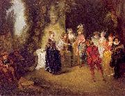 The French Theater WATTEAU, Antoine