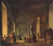 The Grande Galerie at the Louvre between (mk05) louvre