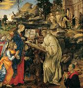The Vision of St Bernard (mk080 Filippino Lippi