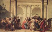 Christ with the Woman Taken in Adultery (mk05) Giovanni Battista Tiepolo
