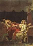 andromache mourning hector (mk02) Jacques-Louis David
