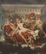 Mars disarmed by venus and the three graces (mk02) Jacques-Louis David