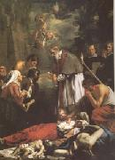 St Macaire of Ghent Tending the Plague-Stricken (mk05) OOST, Jacob van, the Younger