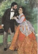 The Painter Sisley and his Wife (mk09) renoir