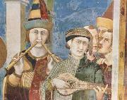 St Martin is dubbed a Knight (mk08) Simone Martini
