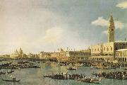 The Basin of San Marco on Ascension Day (mk08) Canaletto