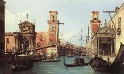 Il Ponte dell'Arsenale (mk21) Canaletto