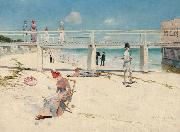 Holiday at Mentone (nn02) Charles conder