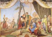 Rachel Hiding the Idols from her Father Laban (mk08) Giovanni Battista Tiepolo