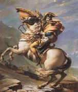 Napoleon Crossing the Alps (mk08) Jacques-Louis David