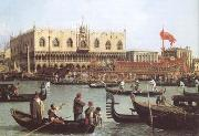The Bacino di S Marco on Ascension Day (mk25) Canaletto